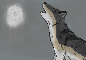 The Soul of The Dire Wolf by TheSpiderAdventurer