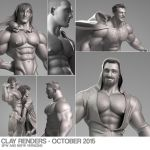 Clay render - October 2015 by albron111