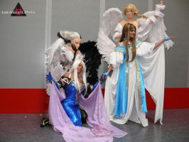 Goddess and Angels by Ivycosplay