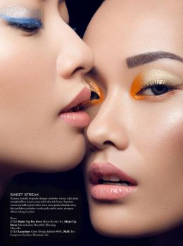 ELLE Indonesia: Double Temptation III by hidden-silly