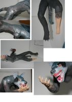 detail shots of werehound by assemblit