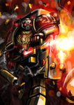 Devastator Space Marine by Andalar