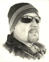 Commission Pencil Portrait by golfiscool