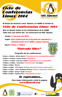 Conferencias Linux 2004 by stanmx