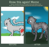 Improvement Meme: Pebblefall by Spottedfire-Meow