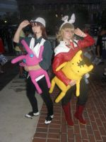 Otakon 2013 - Tiger and Bunny by mugiwaraJM