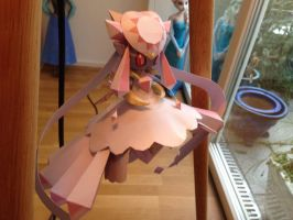Diancie Papercraft view3 by giden445