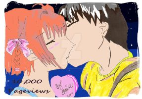 10,000 Pageviews fanart by angelic-cat15
