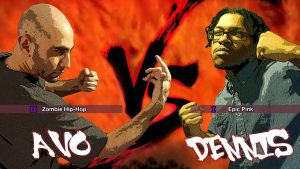 Avo VS Dennis by ZombieHip-Hop