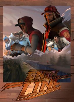 End Of the Line Print Poster by Wiivolution2