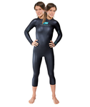 cute two-headed triathalon swimmer by neopreneaddict431