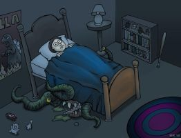 The Thing Under the Bed by hawanja