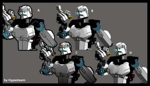 Bionicle Millenium Comic book styles by Hypesteam