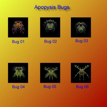 Apophysis Bugs by shineout-fractals