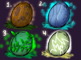 Elemental Egg Adopts by Ambunny