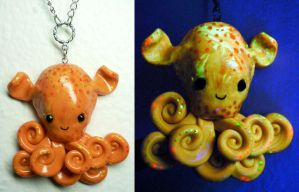 Dumbo Octopus Charm by BlackMagdalena