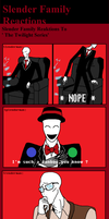 Slender Family reaktions 3 by Scarygermangirl