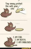 Tiny Smaug by CursedWolfSoul