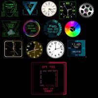 Clock-Collection 2-1-3 by xordes