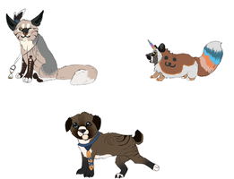 Adoptable animals :auction: [CLOSED again] by FluffyKennels
