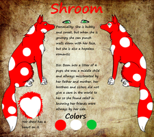 Shroom reference sheet~ by Tontora