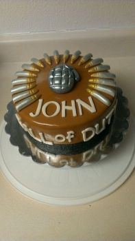Call of Duty Cake by Paypay101