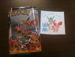 My early Birthday gifts from my friend by Pikafan09