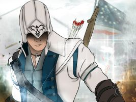 Connor - Assassin's Creed III by iTakerMetal