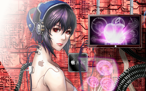 Android Mac Girl by TERRIBLEart