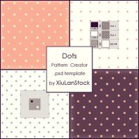 Dots Pattern Creator by XiuLanStock