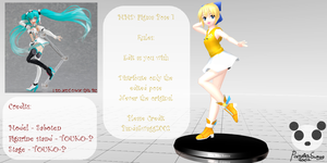 .: MMD - Figma Pose 1 DL :. by PandaSwagg2002