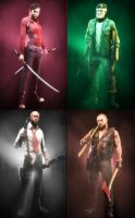 L4D Survivors by Yhrite