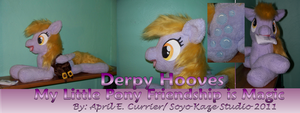 Post Pony Derpy Hooves  plush by Soyo-Kaze-Studio