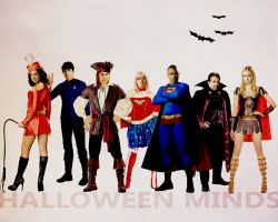 Halloween minds by morlin