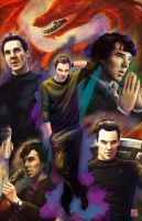 Benedict Cumberbatch by TyrineCarver