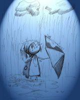 Im not scared from rain by gailee