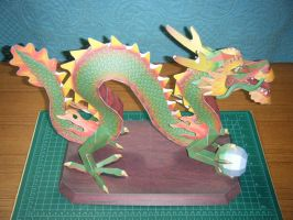 Chinese Luck Dragon Statue 3 by devastator006