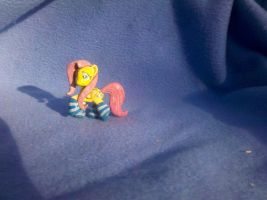 MLP: FiM custom blindbag - Fluttershy in socks! by vulpinedesigns