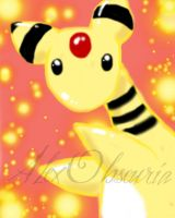 Ampharos 00001 by AlexObscuria