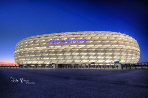 Allianz Arena Munich by clionen77