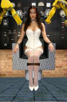 Human Robotization Chair by creativeguy59