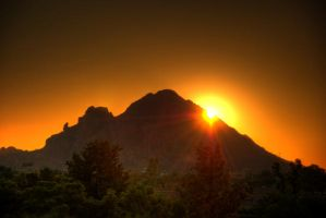 Camelback Sunrise Part 2 by GhostMachines