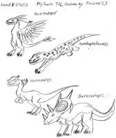 My Favorite TAC Creatures by Daizua123 3 by Dinoboy134