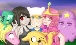 adventure time by Mistress-Squidsy