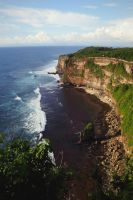 The Cliff Facing the Indian Ocean by Destroth