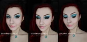 Aquamarine Makeup by psychoren