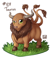 128 - Tauros by oddsocket