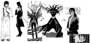 Tyki Mikk: Before and After by MissterCackles
