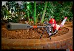 Sniping in the trees. by katyuskamoonfox