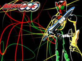 Kamen Rider OOO TaToBa Wallpaper by varumo